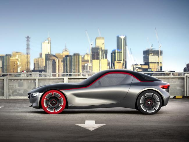 Holden in Port Melbourne was given the assignment to build the show car on behalf of General Motors' European division Opel. Picture: Supplied