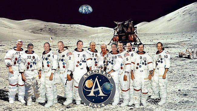 astronauts who walked on moon - photo #28