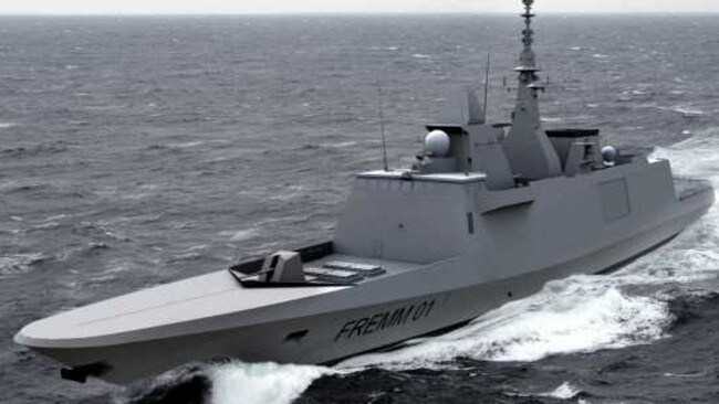 OPTION 2: The Fremm European multimission frigate