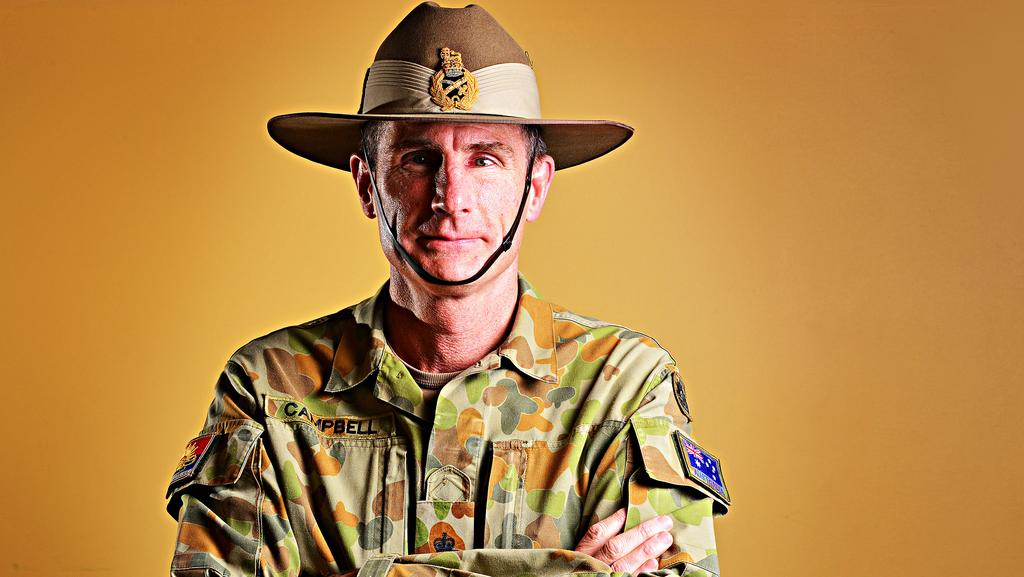 Army boss Lieutenant General Angus Campbell. Picture: Zak Simmonds.