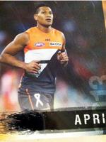 <p>Israel Folau was on a five-year deal with GWS so publishers can be forgiven for assuming he'd still be playing AFL in 2013.</p>