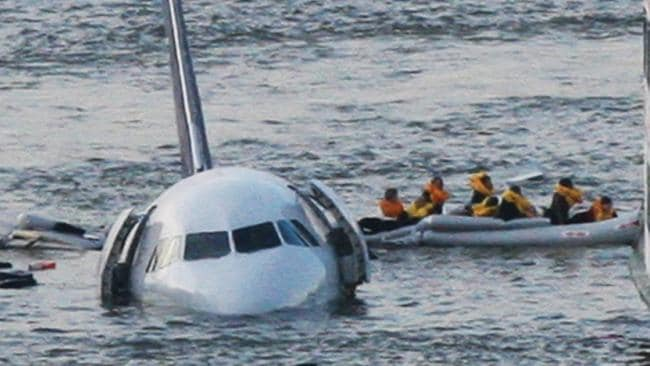 The value of life rafts became evident when a US Airways aircraft went down in the Hudson River in 2009. AP Photo/Bebeto Matthews