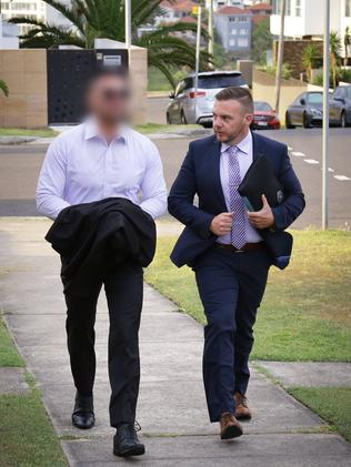 Salim Mehajer (left) was arrested in January. Picture: NSW Police