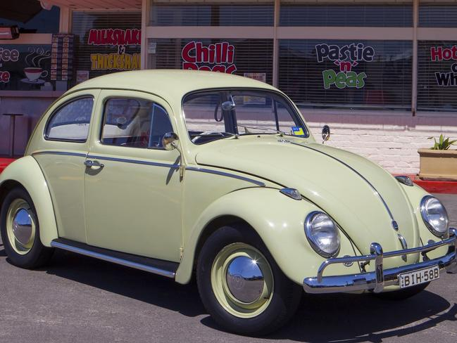 The 1962 Volkswagen Beetle used to be every boy and girl's first car. Picture: Supplied