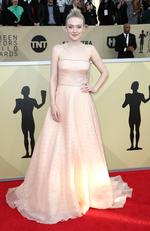 Actor Dakota Fanning attends the 24th Annual Screen Actors Guild Awards at The Shrine Auditorium on January 21, 2018 in Los Angeles, California. Picture: Frederick M. Brown/Getty Images