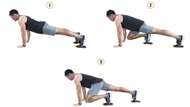 Slider mountain climbers