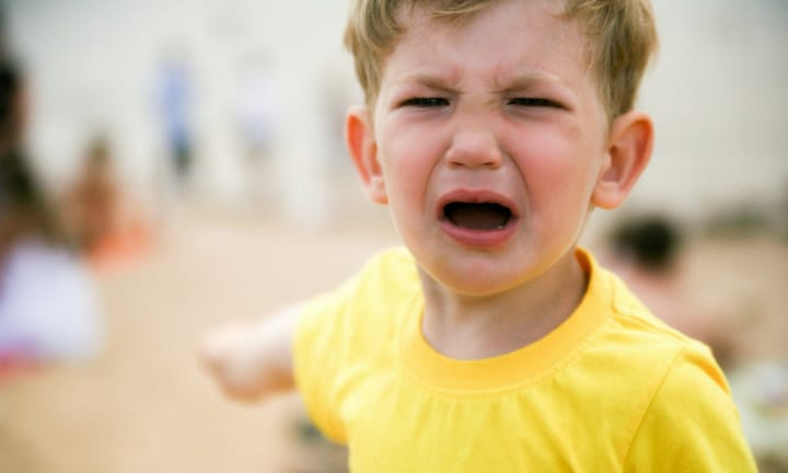 He wasn't ready to leave the play ground. Picture: iStock