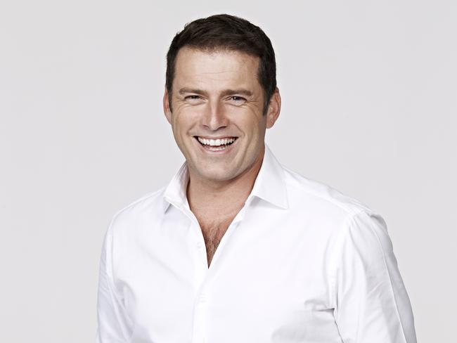 Nine's Today show co-host Karl Stefanovic.