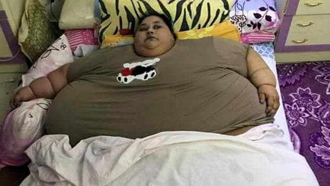 Image result for world's heaviest woman dies in abu dhabi