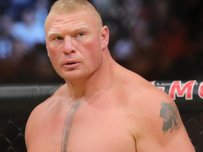 No one does less for more than Brock Lesnar.