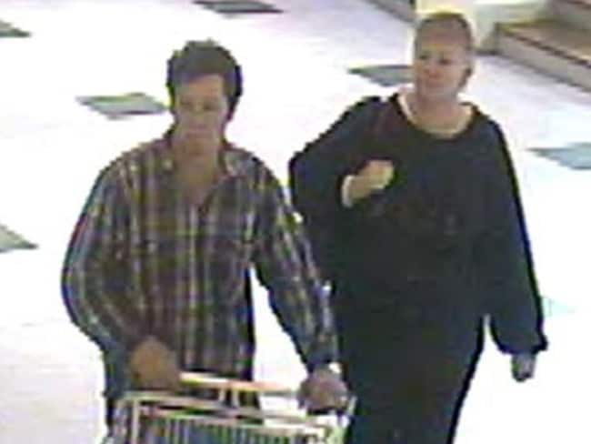 A still of the CCTV footage shown to Anita Cianco and subsequently made public through the media.