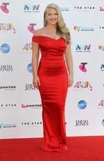 Anja Nissen at the 2015 Aria Awards held at The Star in Pyrmont. Picture: Christian Gilles