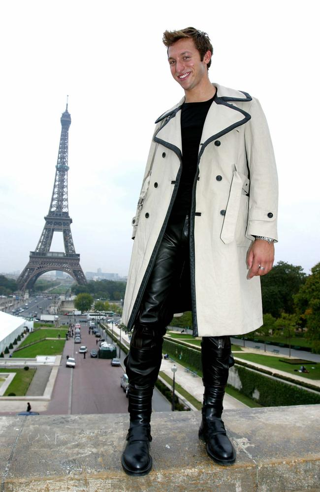 Ian Thorpe in Paris, 2003.