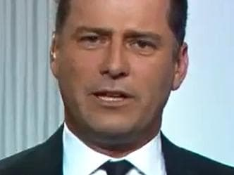 Karl Stefanovic grills Julie Bishop on the Today Show. Picture: Today