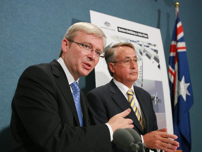Wayne Swan has highlighted the Rudd-era stimulus package as the kind of intervention that pulled Australia through the GFC.