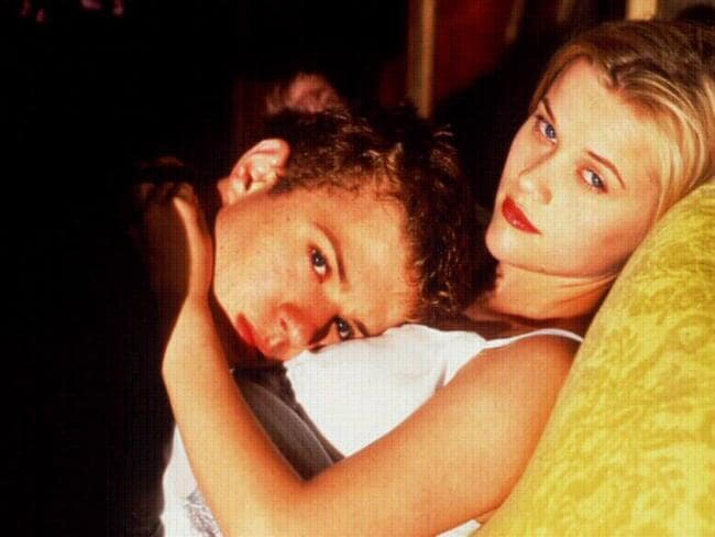 Divorced ... Reese Witherspoon with former husband Ryan Phillippe in Cruel Intentions. Picture: Supplied