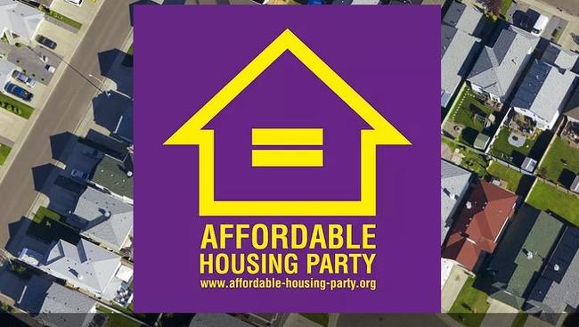 The Affordable Housing Party's symbol.