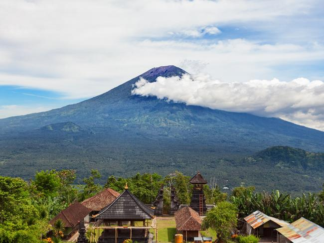 Mount Agung is popular tourist hiking route and highest active volcano on Bali island, Indonesia. Picture: Supplied