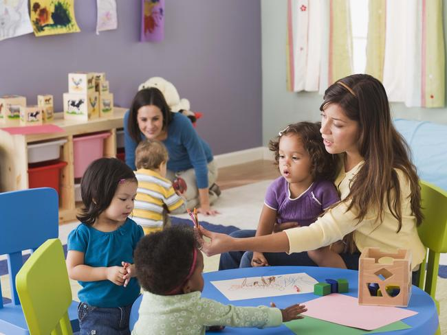 For Jessica, her family's biggest expense is childcare. Image: Thinkstock.