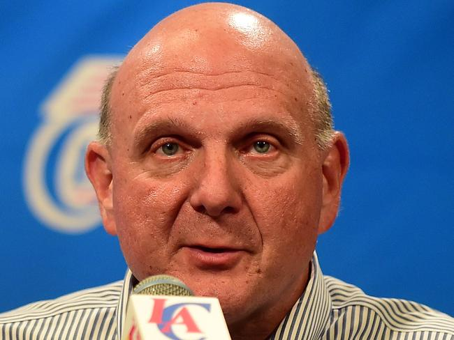 Ballmer is the new owner of the LA Clippers.