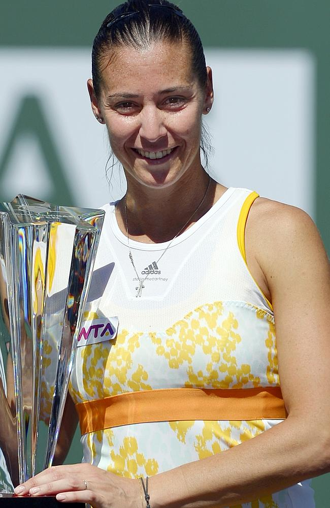 Flavia Pennetta picked up some impressive scalps at Indian Wells.
