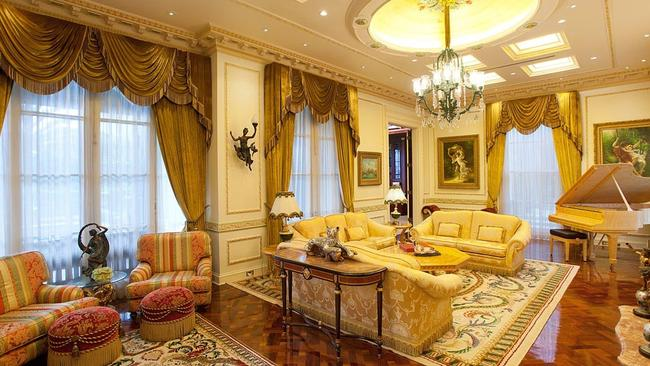 The opulent mansion built by Christopher Skase could break records if it sells in 2018. Source: Supplied