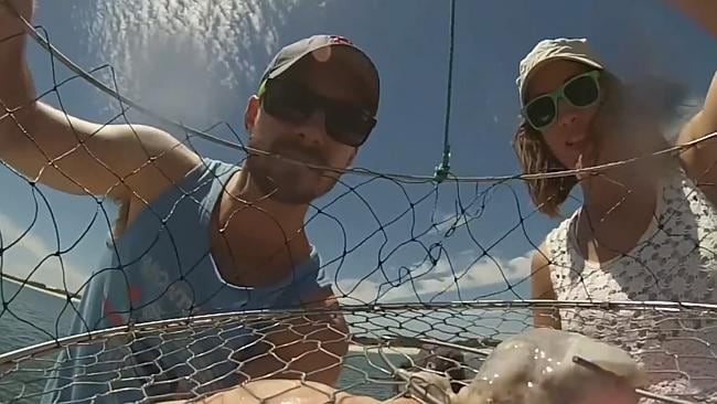 Perth man Scott Murray posted a video on YouTube documenting the life of a crab net, which has now gone viral.