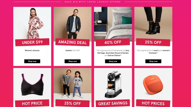 Myer's website has drastically improved.