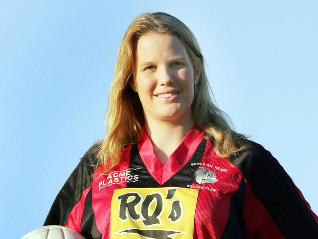Madeleine Riewoldt died at the Royal Melbourne Hospital this morning.