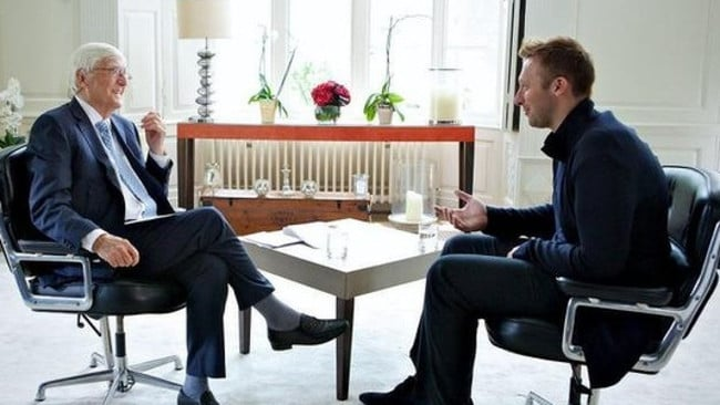 The Channel 10 exclusive Ian Thorpe: The Parkinson Interview will air tonight at 6.30pm.