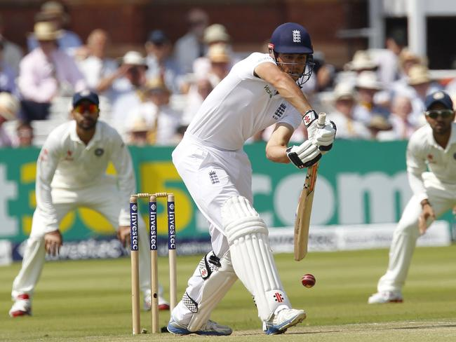 England captain Alastair Cook's struggles with the bat have continued at Lord's.