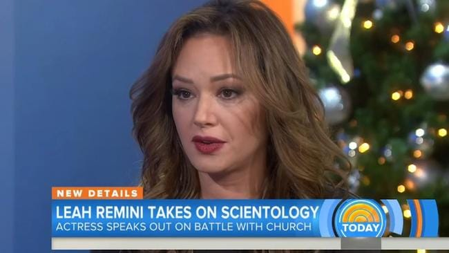 Leah Remini, who was born into Scientology, left the church in 2013.