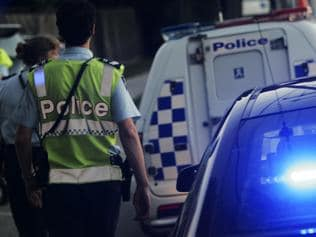 Victoria Police Epping Traffic Management Unit on patrol in the Northern suburbs of Melbourne. Arriving at the scene of a car accident