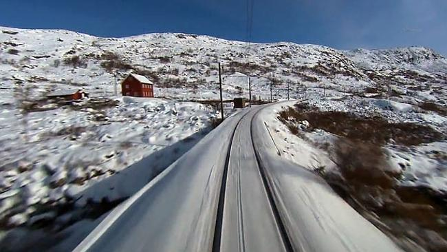 Reality TV Norwegian-style ... Seven hours watching a train.