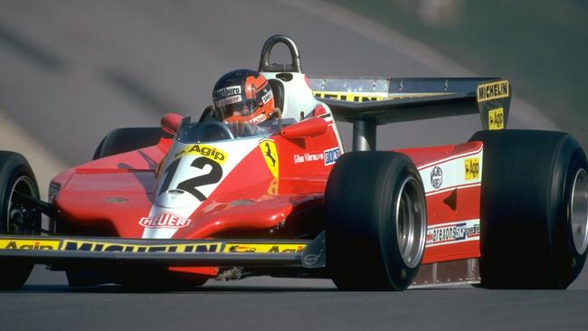 Villeneuve aboard the car at Brands Hatch. Pic: Allsport UK