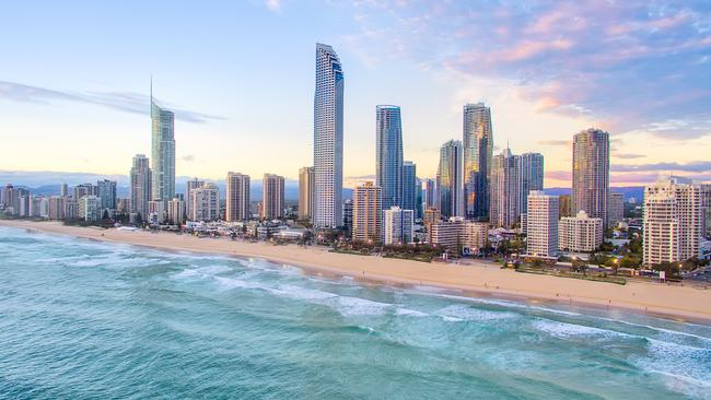 An aerial view of Surfers Paradise on Queensland's Gold Coast in Australia. Picture: Istock