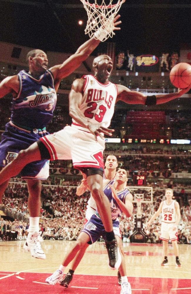 The most famous number in sport — Michael Jordan's 23.