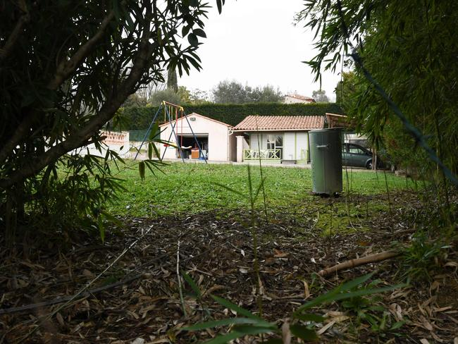 The villa where police found Pierre 'Pierrot' B., a convicted cocaine dealer.