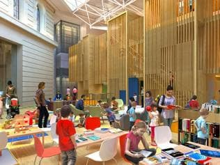 State Library Redevelopment - Childrens Quaters