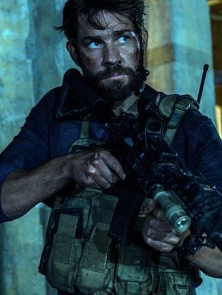 Big role ... John Krasinski as Jack Silva in the film, 13 Hours: The Secret Soldiers of Benghazi. Picture: AP