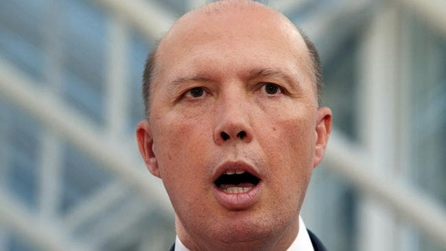 AAT members reviewed 13,755 visa decisions made by delegates for Immigration Minister Peter Dutton and overturned 5276 of them. Picture: Gary Ramage