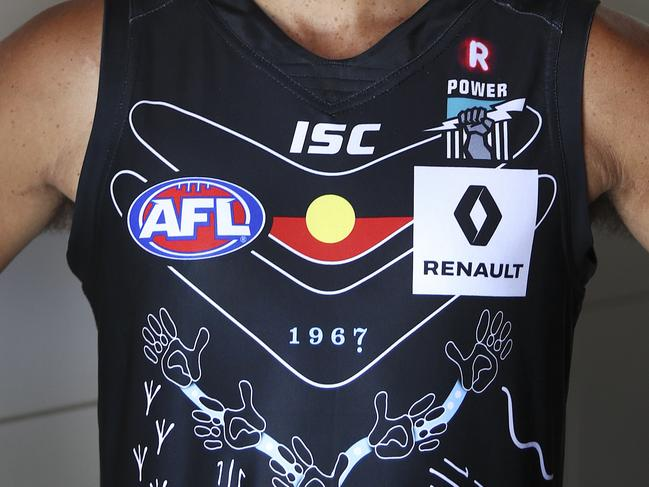 Indigenous jumper has Port fired up
