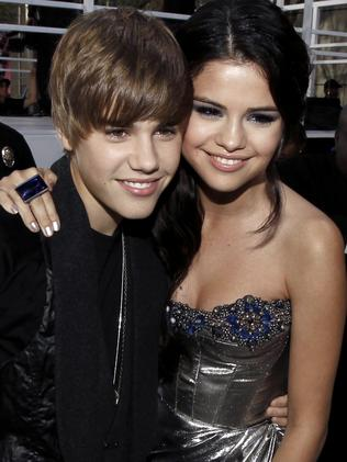 Ex Factor ... Justin Bieber and Selena Gomez started dating in 2010. Picture: AP