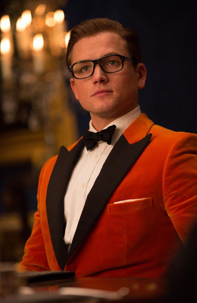 Tip for young players: this kind of look doesn't cut it at Glasto. You're an idiot, Eggsy!