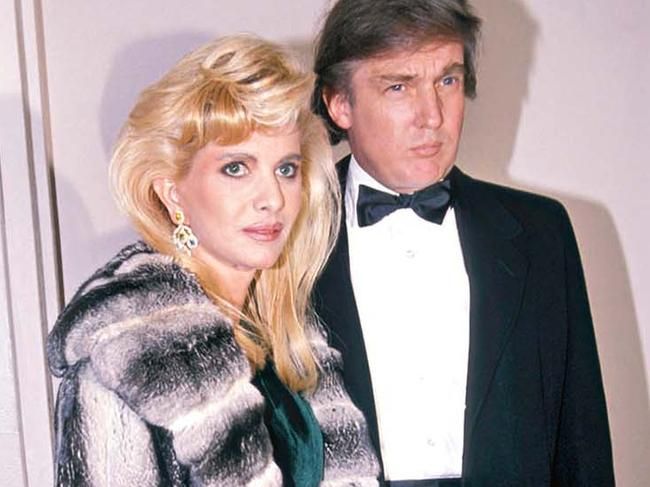Image result for donald trump and ivana