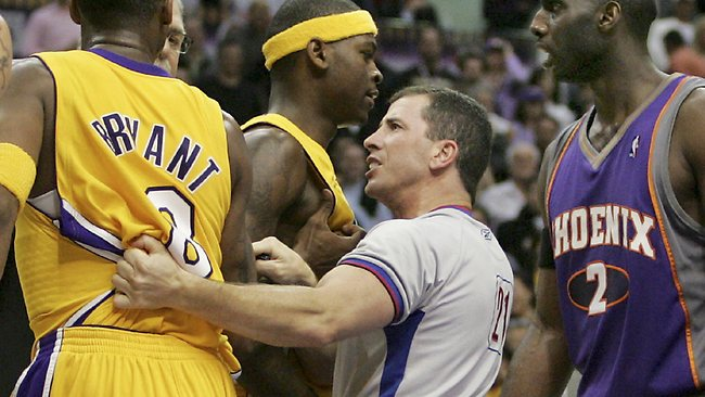 NBA referee Tim Donaghy made calls that affected the scores of games on which he'd placed bets.