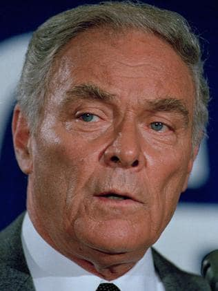 Former Secretary of State Alexander Haig. Picture: AP
