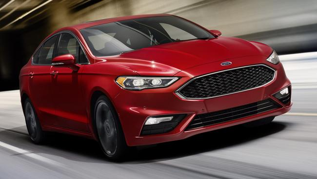 Ford is said to be working on a Mondeo Turbo sedan, but its credentials are an unknown and it won't be as quick as a Falcon XR6 Turbo. Picture: Supplied.