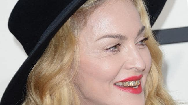 Madonna Grilled On Her Odd Teeth Accessory