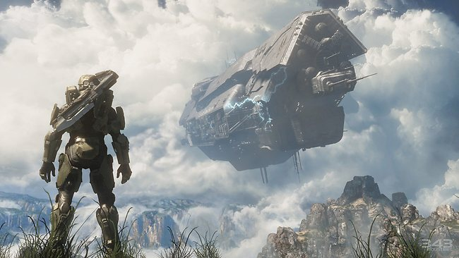 A screenshot from Halo 4. Picture: Courtesy of 343 Studios